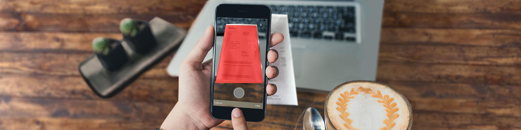 Digital natives mobiles Belegmanagement