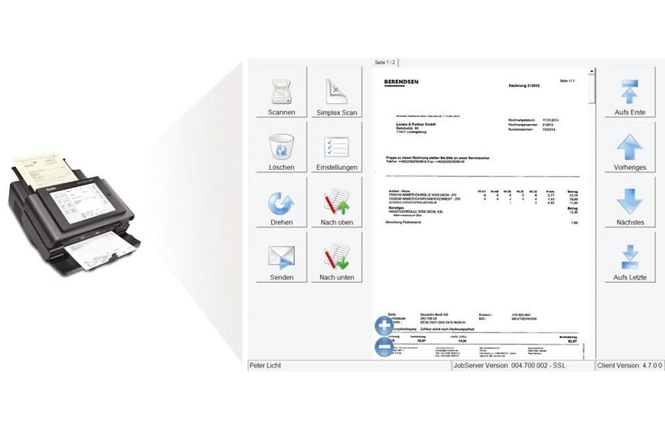 TouchScreen 730EX - BDV Branchen-Daten-Verarbeitung