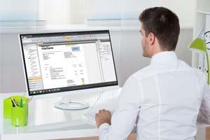 Digitale Belegverarbeitung für Steuerberater - Mandant bucht selbst - BDV Branchen-Daten-Verarbeitung GmbH