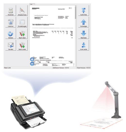 Erweiterte Scannerintegrationen - BDV Branchen-Daten-Verarbeitung