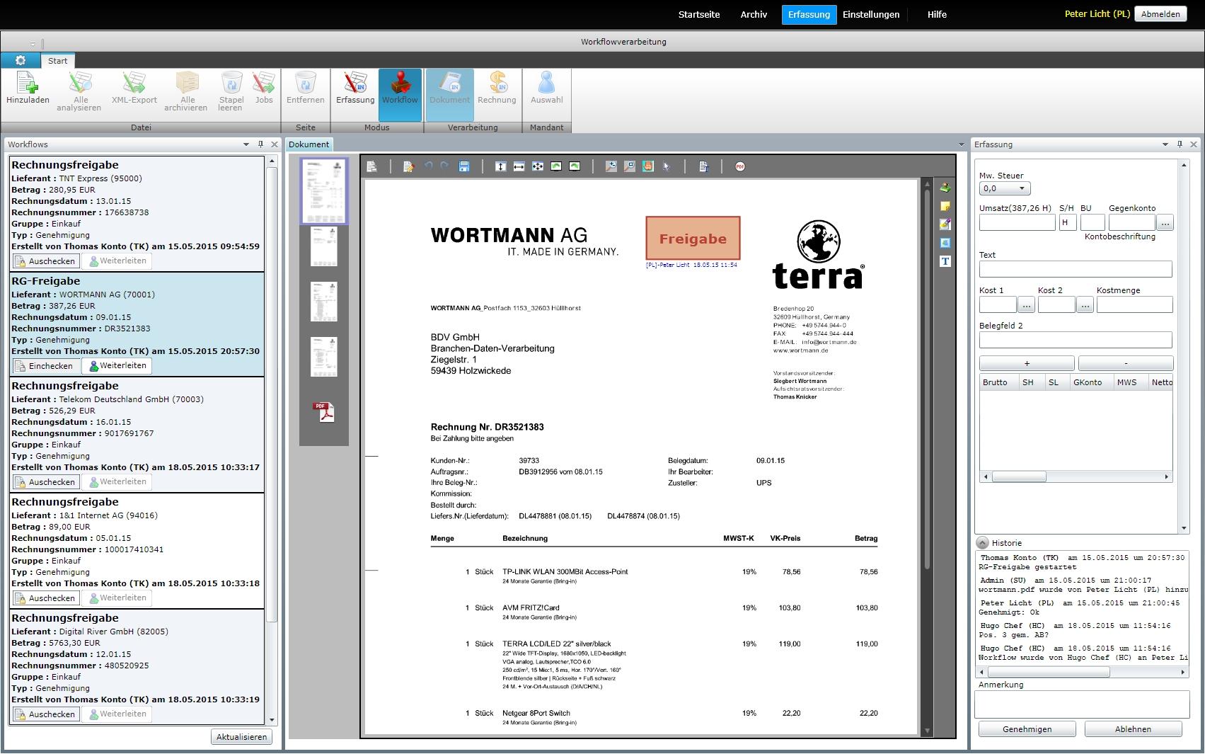 Uniweb - BDV Branchen-Daten-Verarbeitung